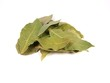 canvas print picture - Pile of bay leaves