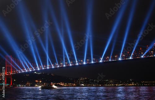 Obraz na plátně bosphorus bridge istanbul - turkey