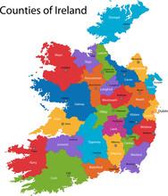Colorful Republic Of Ireland M...