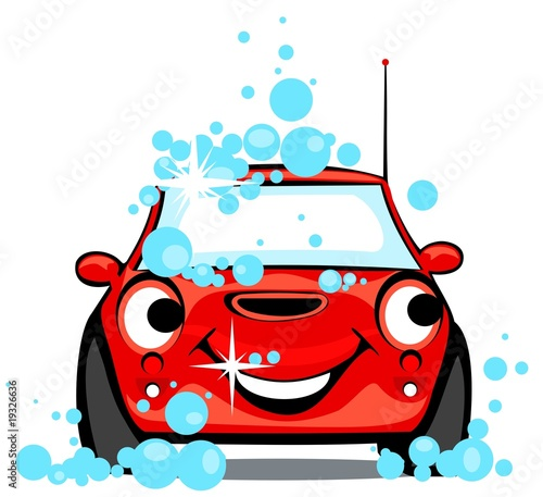 Keuken foto achterwand Cartoon cars Car 3