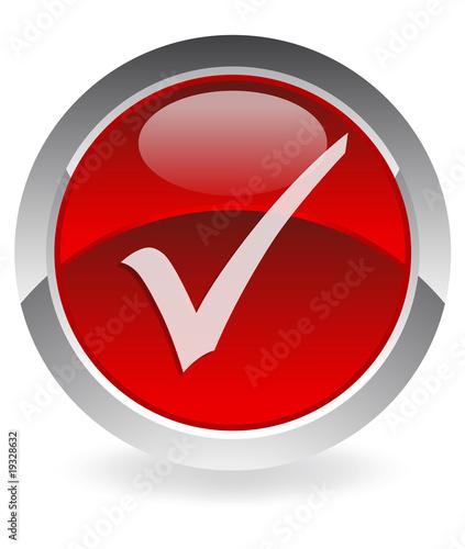 Red Tick Mark Kaufen Sie Diese Vektorgrafik Und Finden Sie