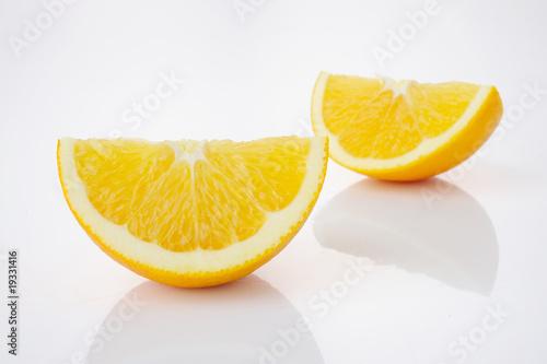 Foto op Aluminium Vruchten orange