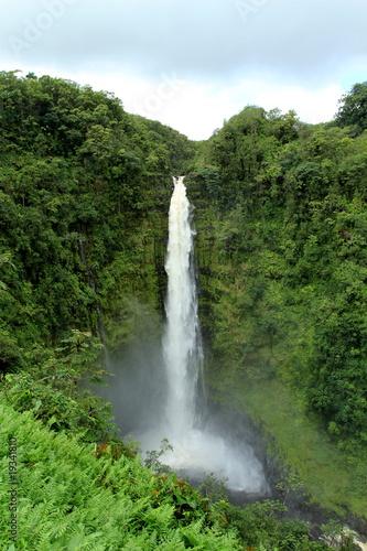 Poster Parc Naturel Waterfall Akaka