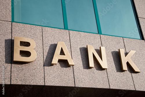 Bank - fototapety na wymiar