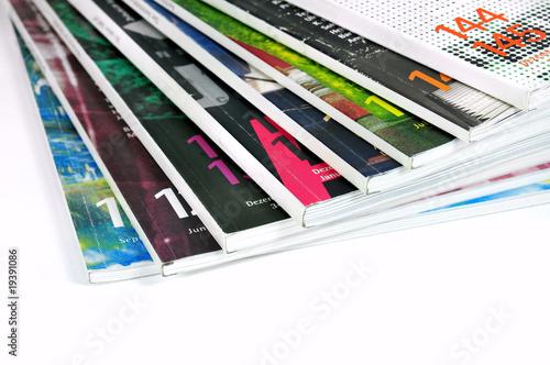 Photographie  Magazines colorés