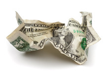 Dollaro Stropicciato
