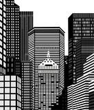 Fototapeta Nowy Jork - Nowy Jork wieżowce