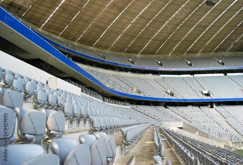 Aluminium Prints Stadion empty stadium