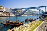 Fototapeta Most - Dom Luis I Bridge, Porto, Douro Province, Portugal