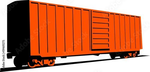 Fotografie, Obraz  Boxcar