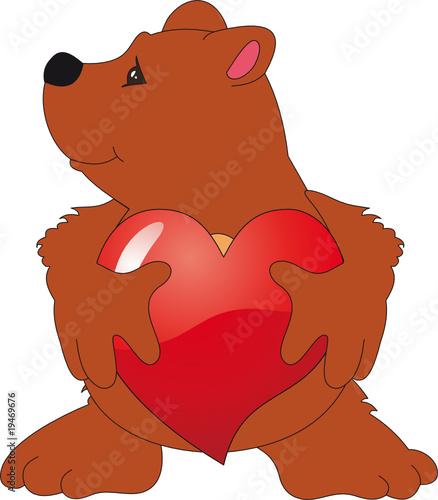 Wall Murals Bears Bear vector
