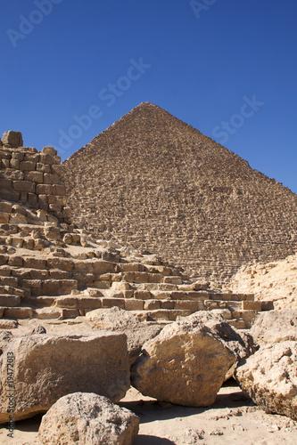 In de dag Egypte Pyramids of Giza