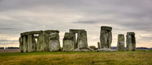 Cloudy Stonehenge