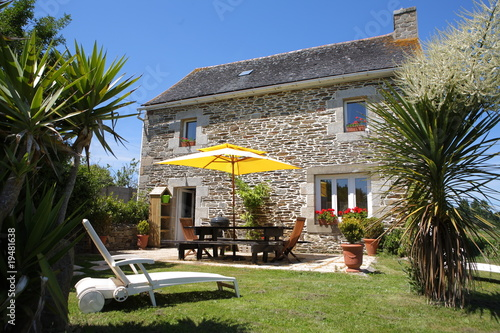 Photo  Maison bretonne