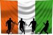 Soccer- Fussball WM Team Elfenbeinküste