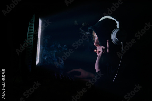 Photo  Computer Sucht