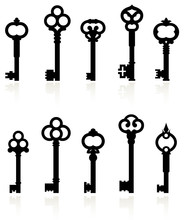 Antique Keys Collection