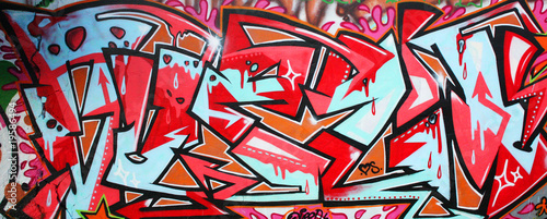 Papiers peints Graffiti Graffiti wall