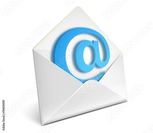 Fotografie, Obraz  Envelope icon