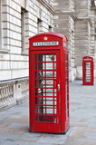 Red telephone booth in London - 19620854