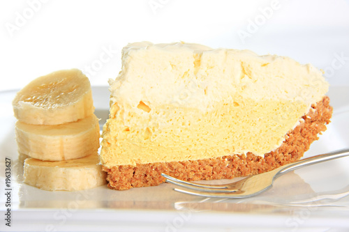 Fotografie, Obraz  Banana cream pie