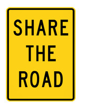 Road Sign - Share The Road