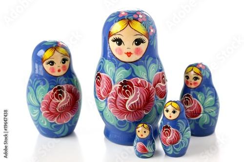 Photographie russian Matryoshka nesting dolls