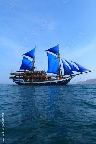 Keuken foto achterwand Schip Ancient ship