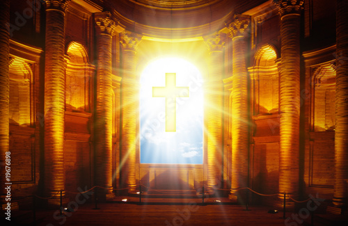 Canvas Print church