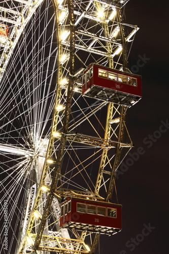 Vienna Giant Wheel Canvas Print