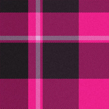 Realistic Seamless Tartan Or Plaid  Texture With Visible Threads