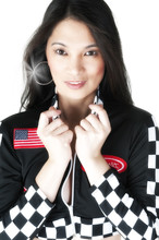 Asian Racing Girl