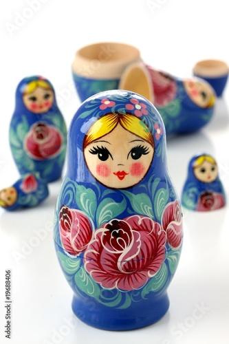 russian Matryoshka nesting dolls Poster Mural XXL
