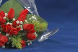 Fototapeta Kwiaty - kwiaty czerwone