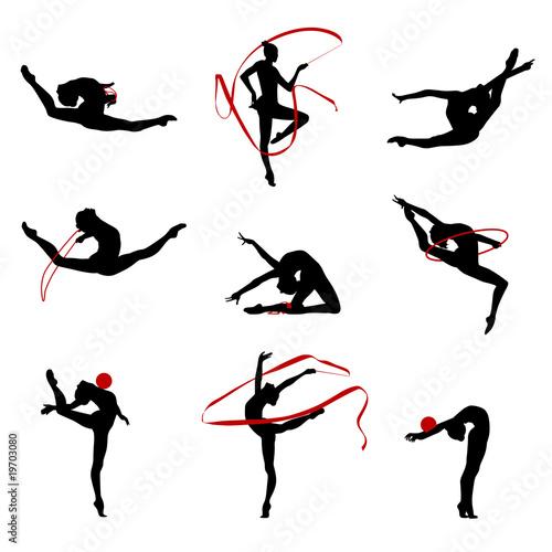 Recess Fitting Gymnastics Gymnastique Rythmique SR 6