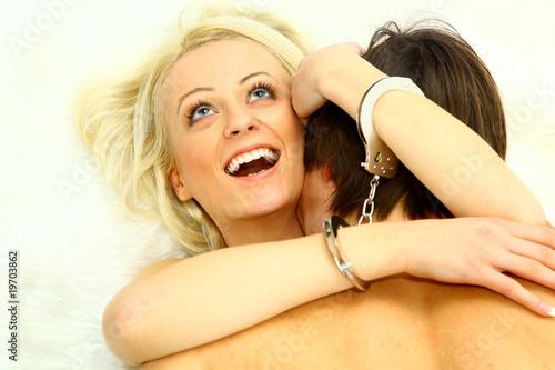 Plakat Para o stosunku seksualnym.