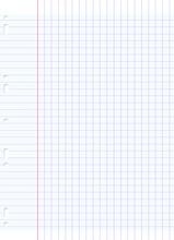 Sheet Of Notebook