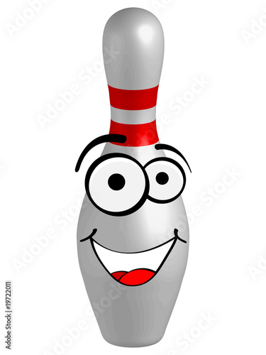 bowling pins vector illustration - Buy this stock vector and