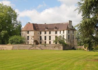 Fototapeta na wymiar French Norman Chateau