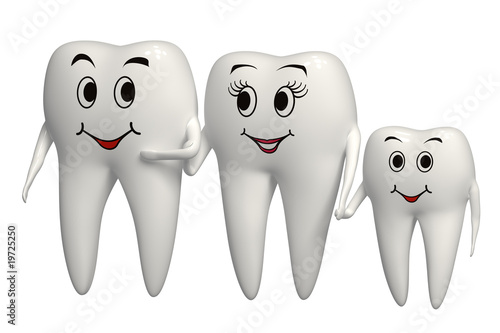 Tooth family #19725250