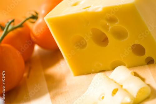 Staande foto Zuivelproducten Delicious cheese