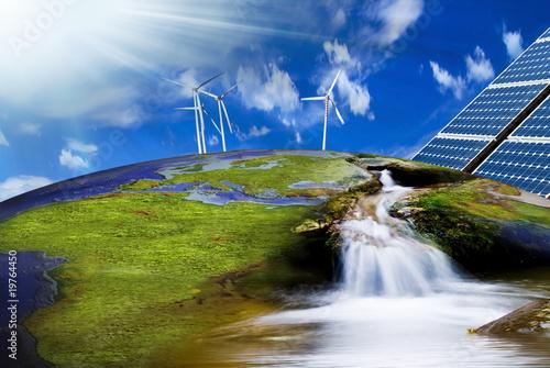 Fotografie, Obraz  energia e futuro
