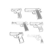 Revolver Vecteur Details
