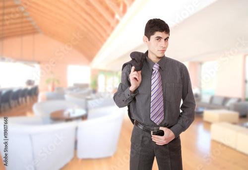 Fototapety, obrazy: Portrait of a business man
