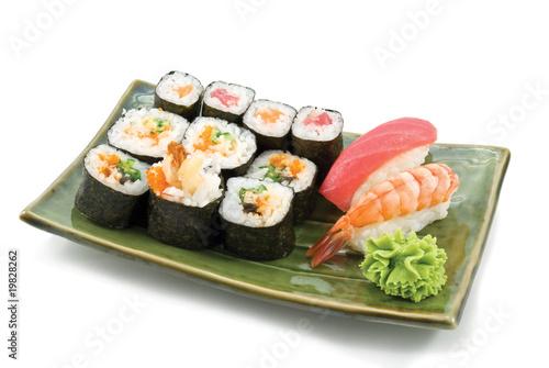 Poster Sushi bar Japanese Food