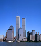 NYC Skyline With The Twin Towers