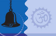 Illustration Of Om With Hangin...