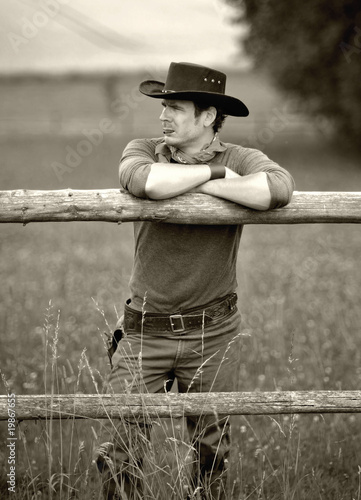 Fotografie, Obraz  Western