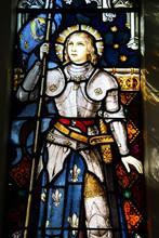 Joan Of Arc In Wellington Church, New Zealand