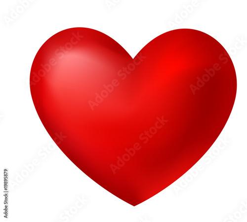 Fotografie, Tablou red heart